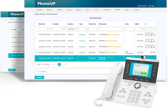Vendor supplied graphic of the user interface